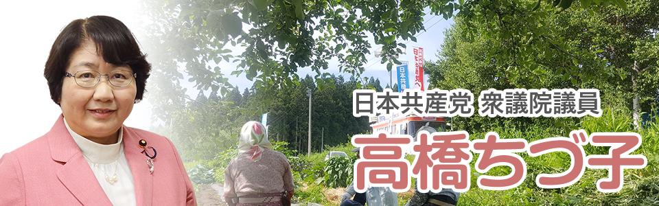 高橋ちづ子(日本共産党衆議院議員)