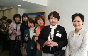 各界女性団体新年会にて