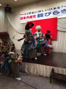 富沢神楽の皆さんの舞